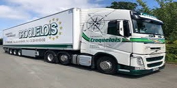 TRANSPORTS CROQUELOIS Logo